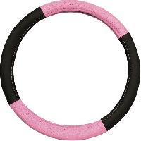 Couvre-volant IMDIFA Couvre-volant Pink - Noir et rose