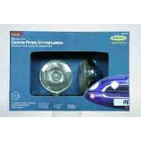 Couvre-volant Kit 2 projecteurs longue portee Chrome Lite