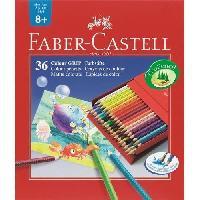 Crayon De Couleur - Craie Grasse Boite de 36 Crayons de couleur Colour Grip Studio - Coloris assortis