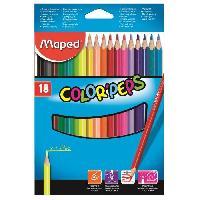 Crayon De Couleur - Craie Grasse Crayons de couleur Color'Peps - Maped