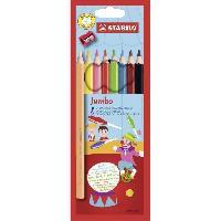 Crayon De Couleur - Craie Grasse Crayons de couleur extra largeJumbo - Etui de 8