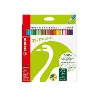 Crayon De Couleur - Craie Grasse Etui carton de 18 crayons de couleur Grenncolors