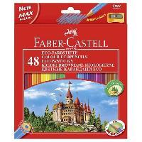 Crayon De Couleur - Craie Grasse FABER-CASTELL Etui de 48 Crayons de couleur château - Coloris assortis