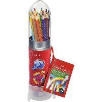 Crayon De Couleur - Craie Grasse Set Crayons de couleur Colour Grip Fusee Peindre et Dessiner - Coloris assortis