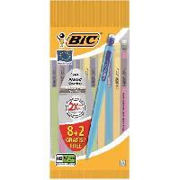 Crayon Graphite - Mine  10 porte-mines Matic Combos - 0.7 mm HB 8+2 gratuits