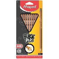Crayon Graphite - Mine  Blister 10 Crayons graphites Black'peps - HB