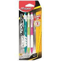 Crayon Graphite - Mine  Porte mine Long Life 0.7 mm - 3 Couleurs