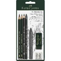 Crayon Graphite - Mine  Set crayon Pitt graphite