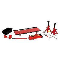 Crics et Chandelles Kit Garage 10 Pieces