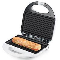 Croque Monsieur TRISTAR SA-3050 Appareil a panini - Blanc