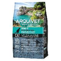 Croquette - Nourriture Seche Arquivet Chat Adulte Poisson blanc et Thon 1.5kg