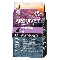 Croquette - Nourriture Seche Arquivet Chat Stérilisé Dinde 1.5kg - Aucune