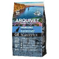 Croquette - Nourriture Seche Arquivet Chat Sterilise Poisson blanc et Thon 1.5kg