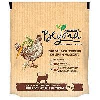 Croquette - Nourriture Seche BEYOND Croquettes - Riche en poulet avec de l'orge complete - Pour chat adulte - 350 g
