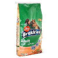 Croquette - Nourriture Seche BREKKIES Croquettes a la volaille et aux légumes - 15kg (x1) - Pour chien adulte