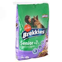 Croquette - Nourriture Seche BREKKIES Croquettes au boeuf et aux légumes - 10kg (x1) - Pour chien senior