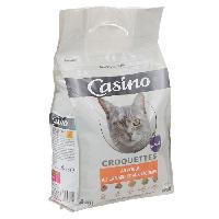 Croquette - Nourriture Seche CASINO Croquettes au poulet. au canard et aux légumes - Pour chat - 4kg (x1)