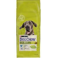 Croquette - Nourriture Seche Croquettes - Avec de la dinde - Pour chien adulte de grande race - 14 kg