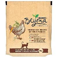 Croquette - Nourriture Seche Croquettes - Riche en poulet avec de l'orge complete - Pour chat adulte - 350 g