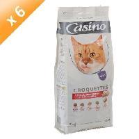 Croquette - Nourriture Seche Croquettes pour chat au boeuf  2 kg - Casino