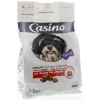Croquette - Nourriture Seche Croquettes pour chien au boeuf moelleuses 1.5 kg - Casino