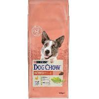 Croquette - Nourriture Seche DOG CHOW Croquettes - Avec du Poulet - Pour chien adulte actif - 14 kg