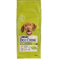Croquette - Nourriture Seche DOG CHOW Croquettes - Avec du poulet - Pour chien adulte - 14 kg