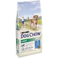 Croquette - Nourriture Seche DOG CHOW Croquettes Light - Avec de la dinde - Pour chien adulte - 14 kg