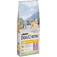 Croquette - Nourriture Seche DOG CHOW Croquettes complet et classic avec de l'agneau - Pour chien - 14 kg