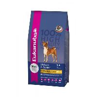 Croquette - Nourriture Seche EUKANUBA Croquettes au poulet - Race moyenne - Pour chien mature senior - 15kg