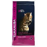 Croquette - Nourriture Seche EUKANUBA Croquettes pour chat stérilisé ou en surpoids - Poulet - Alimentation 100% Complete et Equilibrée - 3kg