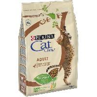 Croquette - Nourriture Seche PURINA CAT CHOW Croquettes - Avec NaturiumTM - Riche en canard - Pour chat adulte - 3 kg