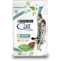 Croquette - Nourriture Seche PURINA CAT CHOW Croquettes - Avec NaturiumTM - Riche en poulet - Pour chat sterilise - 3 kg