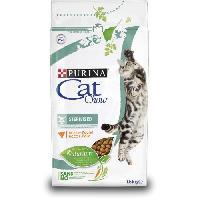 Croquette - Nourriture Seche PURINA CAT CHOW Sterilised Croquettes - Avec NaturiumTM - Riche en poulet - Pour chat adulte - 1.5 kg