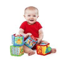 Cube Eveil BRIGHT STARTS Cubes Grab & Stack - Jeu d'Eveil