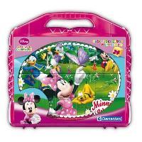 Cube Eveil CLEMENTONI - Puzzle 24 Cubes - Minnie