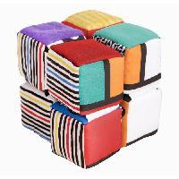 Cube Eveil Cubes aux couleurs contrastees Infinity Block - Multicolore