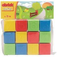 Cube Eveil ECOIFFIER Sachet 12 Cubes