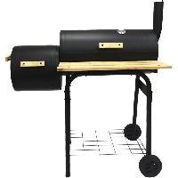 Cuisine Exterieure BBQ Charbon avec fumoir