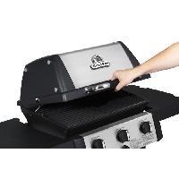 Cuisine Exterieure BROIL KING Barbecue a gaz Gem 320 - En fonte - 1900cm²