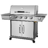 Cuisine Exterieure Barbecue a gaz Kimberley 5 +1 feux- Fonte et inox