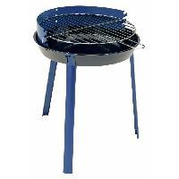 Cuisine Exterieure Barbecue charbon rond en acier 37 cm - Cao Camping