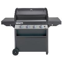 Cuisine Exterieure CAMPINGAZ Barbecue a gaz CLASS 4 LBD - Grille et Plancha acier - 78 x 45 cm