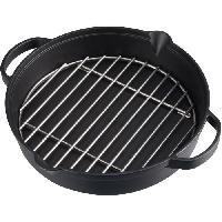 Cuisine Exterieure CAMPINGAZ Culinary Modular : Wok acier avec revetement anti-adhérent diam 30 cm