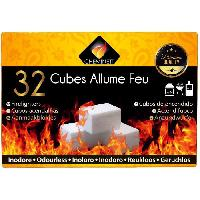 Cuisine Exterieure CHEMINETT Allume feu Prenium Quality en paraffine - 32 cubes
