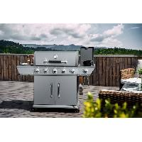 Cuisine Exterieure COOKING BOX Barbecue a gaz DUKE - 5 Feux + side - Cook'in Garden