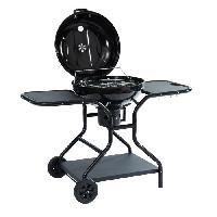 Cuisine Exterieure POPEYE Barbecue boule a charbon + 2 tablettes- Diametre cuisson ø54.4 cm - Noir - Aucune