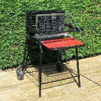 Cuisine Exterieure RAYMOND Barbecue charbon de bois cuisson verticale