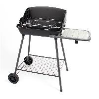 Cuisine Exterieure SOMAGIC Barbecue a charbon cuisson verticale + horizontale - Acier chromé - 51.4x37cm
