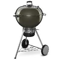 Cuisine Exterieure WEBER Barbecue a charbon Master-Touch GBS O57 cm Smoke - Acier chrome - Gris
